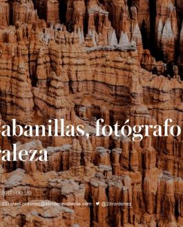 Pío Cabanillas, fotógrafo de naturaleza